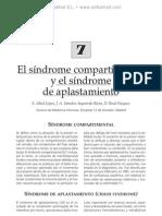 Si¦ündrome compartimental y si¦ündrome de aplastamiento