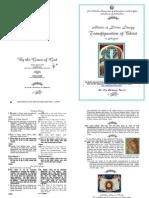 Transfiguration 2010 - Mat & Div Lit