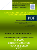 Nuevos Biofertilizantes 2011 Unalm