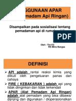 PPT presentasi apar