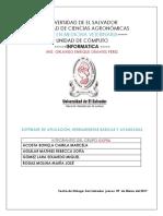 Software de Aplicacion Herramientas Basicas y Avanzadas Doc 2