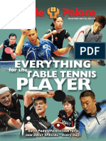 Table tennis Winter 2016