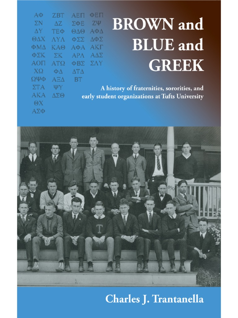 Brown and Blue and Greek   Fraternities And Sororities