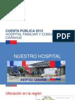 Cuenta Publica Carahue 2015