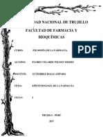 Ensayo Epistemología