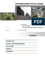 PPT-Rockfall Mitigation Measures for Hill Roads -July 2016 - R1