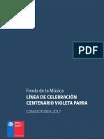 Musica Centenario Violeta Parra 2017
