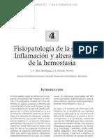 Fisiopatologi¦üa de la sepsis. Inflamacio¦ün y alteraciones de la hemostasia