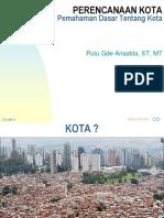 1-Pemahaman Dasar Tentang Kota