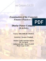 Dhofar Power Company