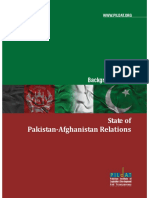 Pak Afghan Relations