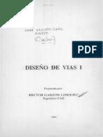 LibroApuntes de Diseño de Vias 1993