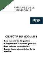 Management de la QUALITE TGP