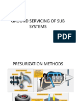 Ground Servicing of Sub Systems