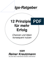 Rat 12 Prinzipien Erfolg