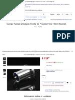 Cuerpo Tuerca Embalada Husillo De Precision Cnc 16mm Neumak - $ 728