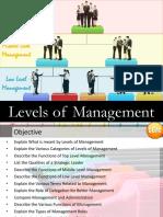 Levels of Management