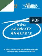 NGO Capacity Analysis Toolkit Eng