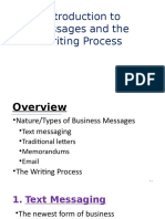 Ch-5; Messages and Writing Process
