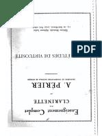 PÉRIER a., Vingt Études de Virtuosité