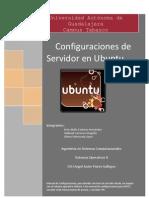 Configuracion de Servidor DHCP FTP & PROXY SERVER en Linux Ubuntu