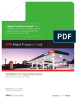 APN Retail Property Fund IM and Application Form
