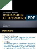 Understanding Entrepreneurship