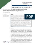 4 Examining the Attitude-Achievement Paradox in PISA