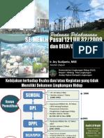 Presentasi SE-MENLH_ Pedoman Pelaksanaan DPEL_dan_DPLH