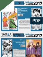 Proximas Novedades Ivrea - Agosto 2017