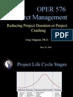 OPER 576 - S04 - Project Crashing