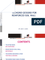 3.7 Tech Grid for Reinforced Earth, Soil Retaining Wall