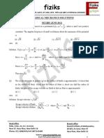 2.Classical Mechanics NET-JRF VKS