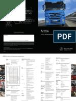 Mercedes Benz Actros 2648LS 6x4 v3 Specifications Jun 14