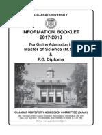 MSC information booklet 2017