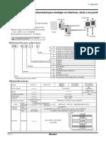 EPROM Catalogo Sensores THD