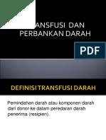 Transfusi Dan Bank Darah