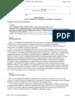Hot. CSM Nr.279 Din 2012 de Aprobare a Regulamentului de Concurs, Cu Modif. Si Completarile Ulterioare