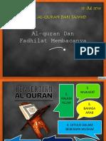 0_al-Quran Dan Fadhilatnya