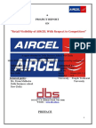 Retail Visibility Project of aircel