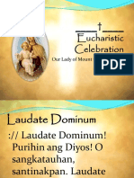Eucharistic Celebration (Carmelite)