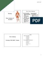 Skull Anatomy PDF