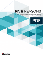 Five Reasons to Stop Using Excel.pdf