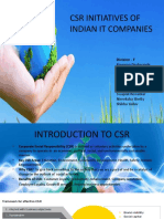 CSR INITIATIVES OF INDIAN IT COMPANIES.pptx