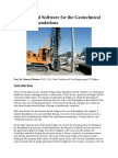 An Advanced Software for the Geotechnical Design of Foundations