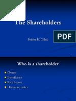 3 Shareholders