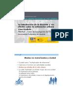 Presentación Convivencia Peatón-bicicletas