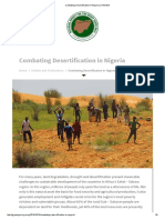 Combating Desertification in Nigeria _ NAGGW