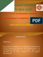 4.-VALORIZACIONES