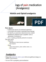 NSAIDs and Opioid